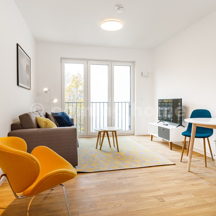 Small Space Chic Modern Apartment With Fitness Room Co